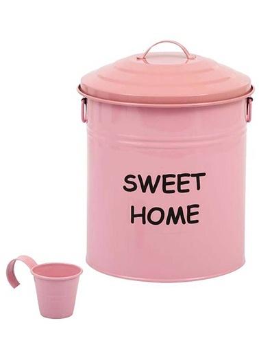 Metal  Sweet Home Deterjanlık & Çöp Kutusu-Bordeaux